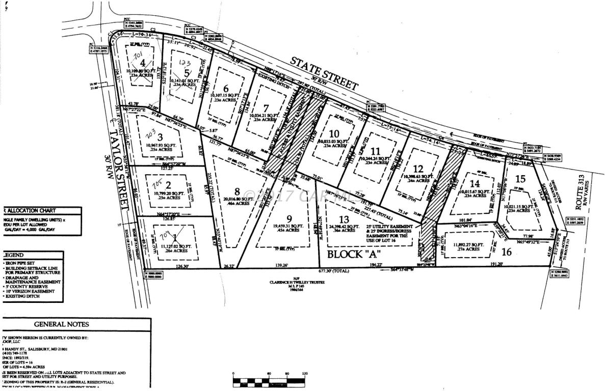 Land for Sale at 117 State St Sharptown, Maryland 21861 United States