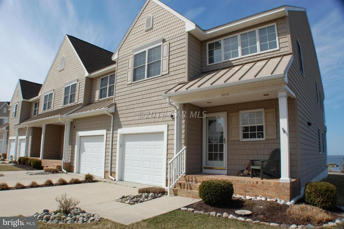 Condo / Townhouse for Sale at Waters Edge, 109 Waters Edge Crisfield, Maryland 21817 United States