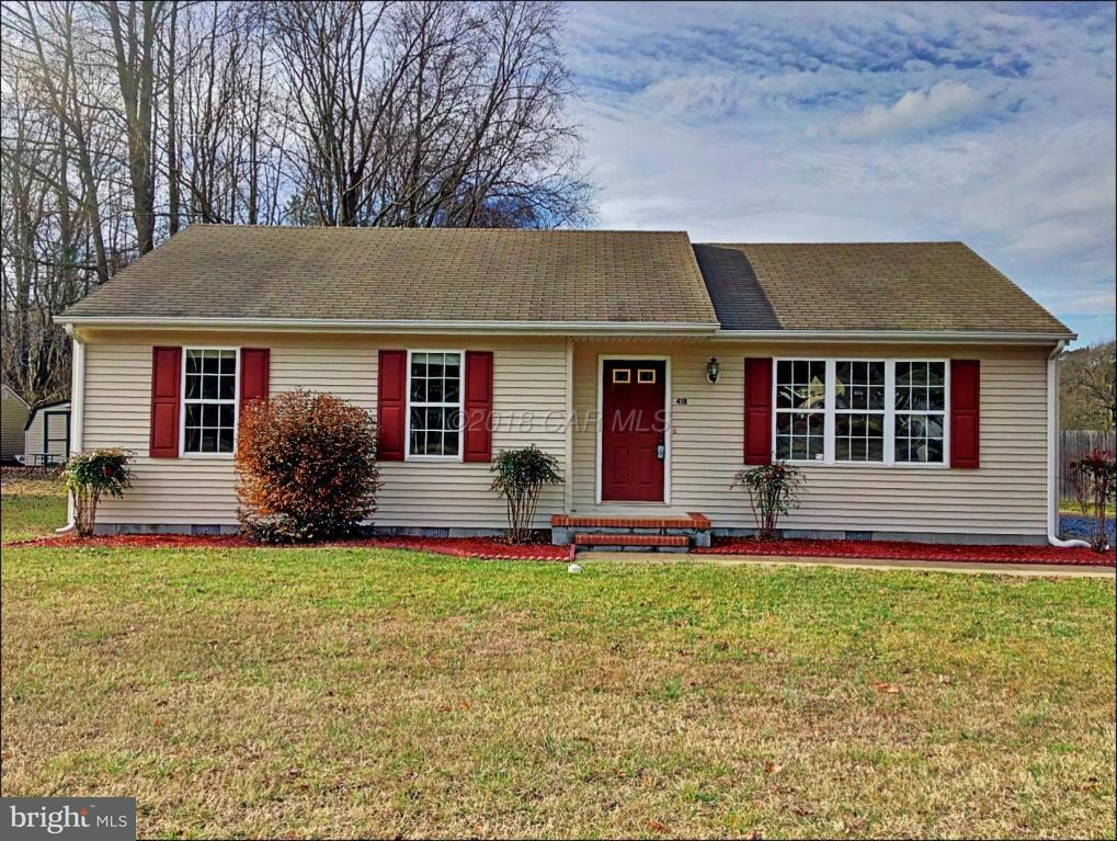 Single Family for Sale at NONE AVAILABLE, 418 S Camden Avenue Fruitland, Maryland 21826 United States