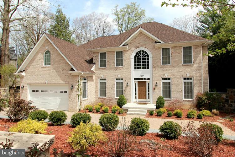 Single Family for Rent at 6517 Persimmon Tree Road Bethesda, Maryland 20817 United States
