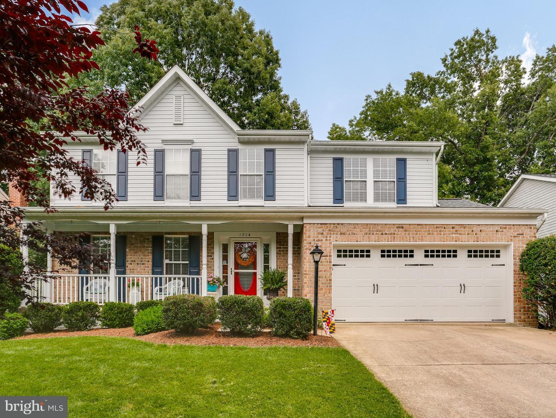 Single Family for Sale at 1714 Wickham Way Crofton, Maryland 21114 United States