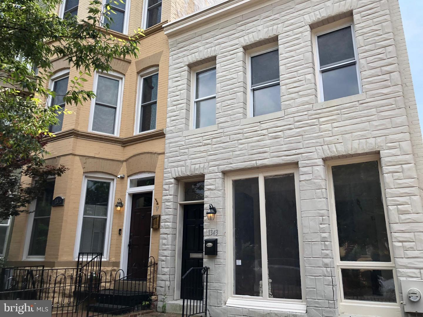 Single Family for Sale at 1343 Constitution Avenue NE Washington, District Of Columbia 20002 United States