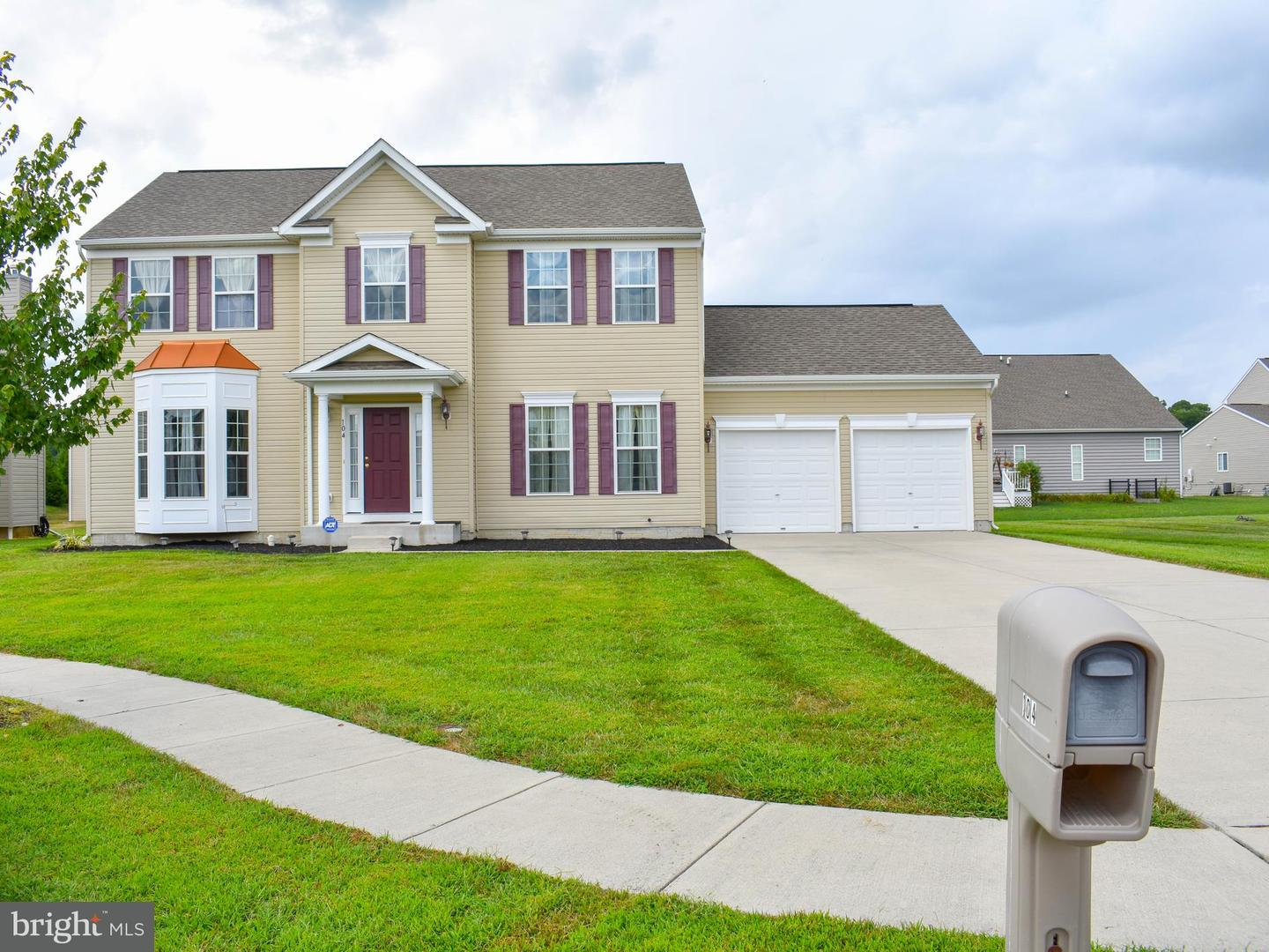 Single Family for Sale at 104 Evans Court Cambridge, Maryland 21613 United States