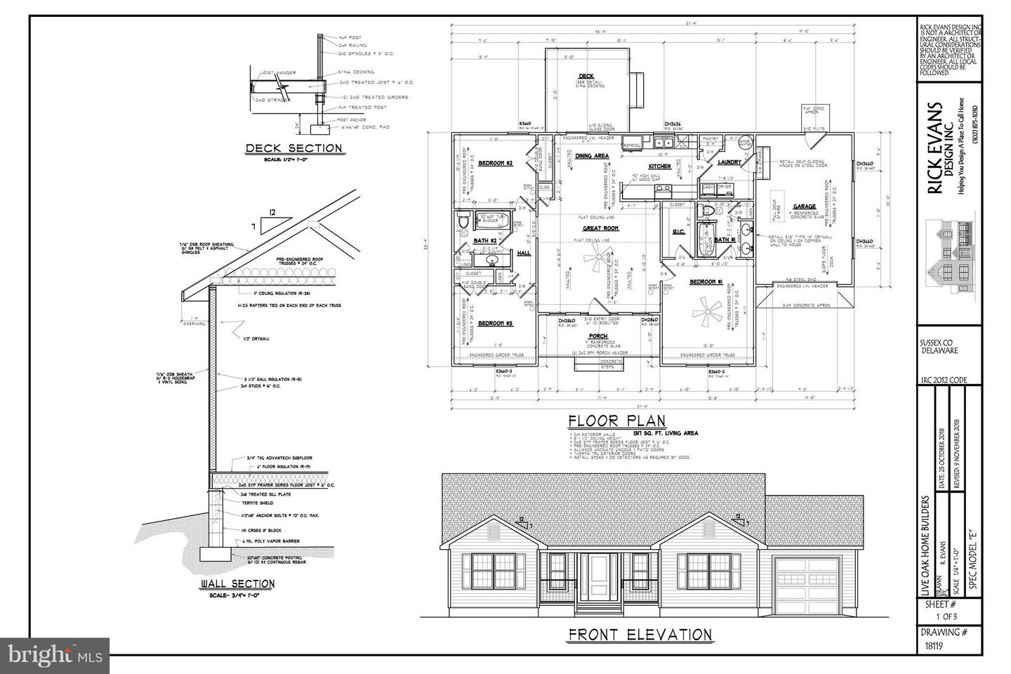 Other Residential for Sale at NONE AVAILABLE, Lot 1 S Legacy Lane Laurel, Delaware 19956 United States
