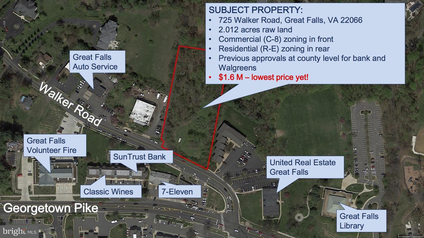 Other Residential for Sale at 725 Walker Road Great Falls, Virginia 22066 United States